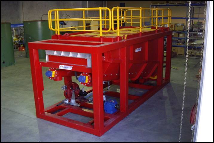 Offshore Oil and Gas screw feeder